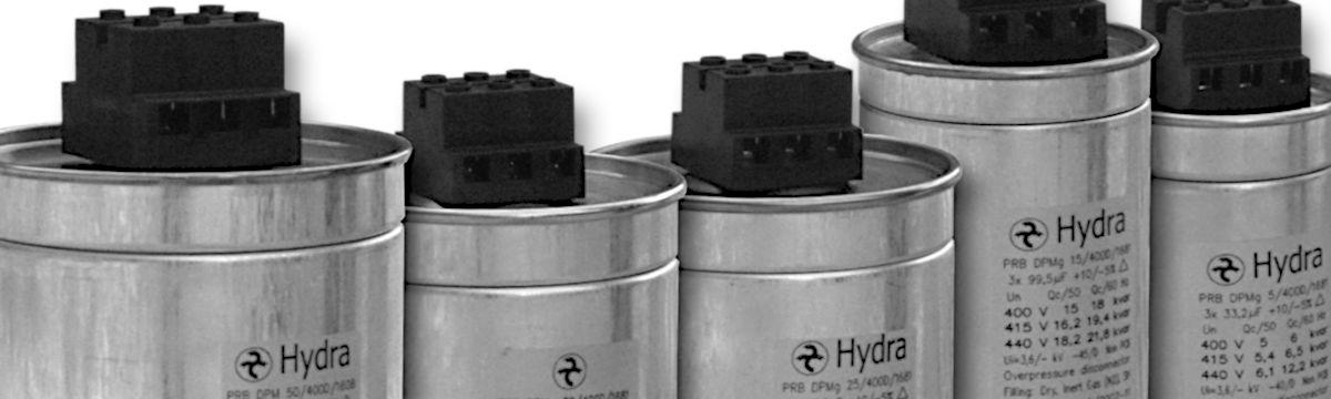 Силовые конденсаторы HYDRA для УКРМ